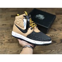 Nike Lunar Force 1 Duckboot black/Khaki Sport Shoe Size 40-47