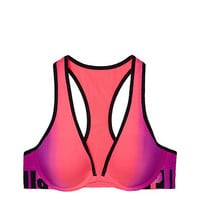 Cool & Comfy Plunge Push-Up - PINK - Victoria's Secret