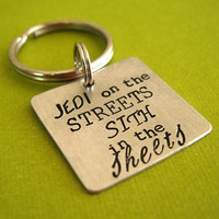 Star Wars Key Chain - Jedi on the streets Sith in the sheets
