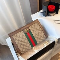 GUCCI Ophidia classic wild retro chain bag shoulder bag