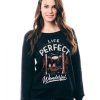 Life Doesn't Have To Be Perfect Sweatshirt - Charity