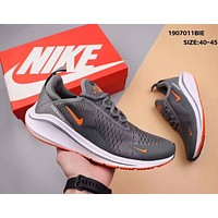 NIKE Air Zoom 270 Vapormax Flyknit Trending Men Casual Running Sport Shoes Sneakers Grey