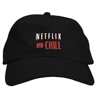 Netflix and Chill Dad Hat