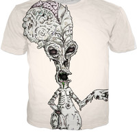 ⭐' T-SHIRT AMERICAN DAD ROGER ZOMBIE '⭐