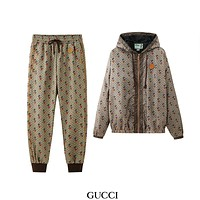 GUCCI x DISNEY 2020 new sunscreen windbreaker jacket + casual trousers