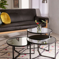 Elliot Mirrored Coffee Table | Urban Outfitters