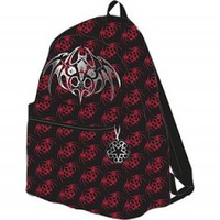 BLACK VEIL BRIDES allover BACKPACK BAG