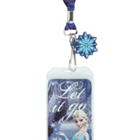 Disney Frozen Let It Go Lanyard