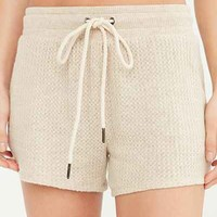 Out From Under Cozy Thermal Short - Urban Outfitters
