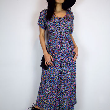 Season Of The Witch Vintage Dress
