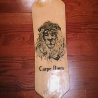 Drop Through Lion Cruising Longboard