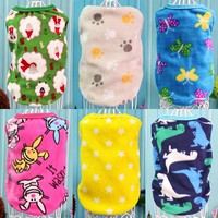 Spring Pet Dog Clothes Puppy Coat T-shirts Vest Warm Hoodie for Small Dogs Clothes Chihuahua Puppy Outfits Cat Pajamas 9AY39