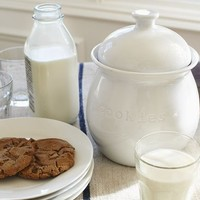 Great White Cookie Jar | Pottery Barn