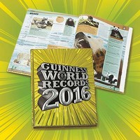 2016 Guinness World Records Book