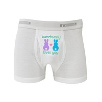 Somebunny Loves You Boxer Briefs  by TooLoud