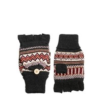 ASOS Hood Glove With Fairisle