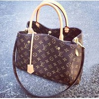 LV Louis Vuitton Fashion New Leather Tote Shopping Bag Crossbody Satchel Shoulder Bag Handbag Women