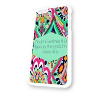 Kate Spade Lilly Pultizer White Plastic For iPhone 6 Case
