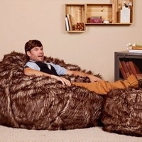 A large bean bag for Christmas, now there is a great gift idea.