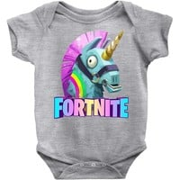 Fortnite Unicorn Baby Onesuit