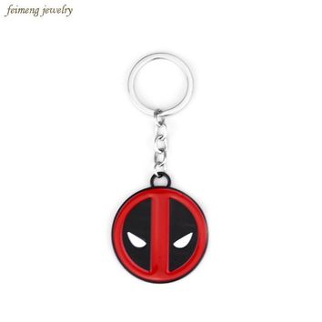 Deadpool Dead pool Taco   New Arrival Anime Cartoon Fashion  Keychain Pendant Key Chain Chaveiro Metal Alloy Keyring For Women & Men AT_70_6