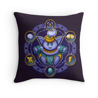'Jinn' Throw Pillow by likelikes