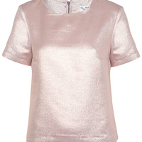Pink Lurex T Shirt - View All - Going Out