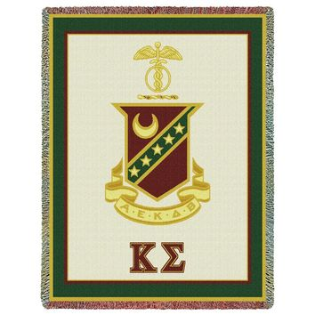 KAPPA SIGMA (2) THROW BLANKET