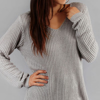 Long Loose Fit Sweater