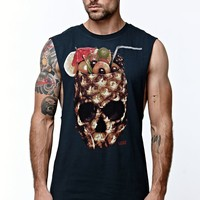 Vans Drained And Confused Tank Top - Mens Tee - Black