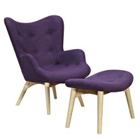 Aiden Chair Plum Purple