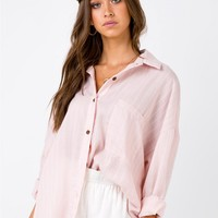 Women's Tops | Summer Sandbar Top Pink | Princess Polly