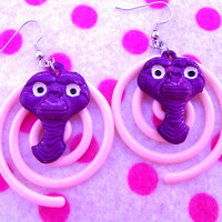 Hypnotic ET Alien Earrings