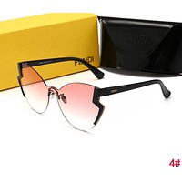 FENDI Popular Ladies Men Personality Summer Sun Shades Eyeglasses Glasses Sunglasses