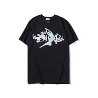 DIOR hot seller of casual tops and matching print t-shirts Black