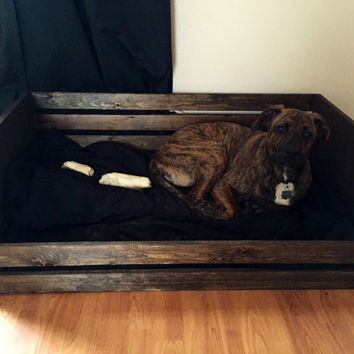 Rustic Dog Bed Frame - Large