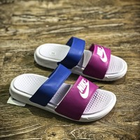 Nike Benassi Swoosh Sandals Style #9 Slippers - Best Online Sale