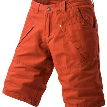 Panel Design Bermuda Shorts