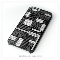 Fall Out Boy Lyric iPhone 4 4S 5 5S 5C 6 6 Plus , iPod 4 5 , Samsung Galaxy S3 S4 S5 Note 3 Note 4 , HTC One X M7 M8 Case