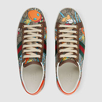 Women's Disney x Gucci Donald Duck Ace sneaker