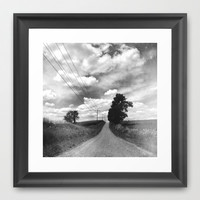 The Road Not Chosen Framed Art Print by Olivia Joy StClaire