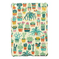 Cactus Pattern iPad Mini Case