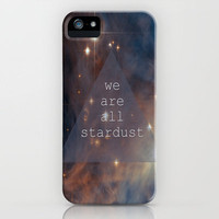 We Are All Stardust iPhone Case by Ally Coxon | Society6