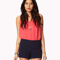 Essential Woven Shorts   FOREVER21 - 2025071051