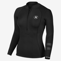 The Hurley Fusion 202 Jacket Women's Wetsuit.