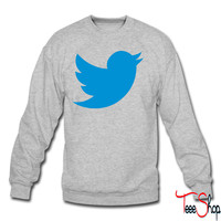 Blue Bird crewneck sweatshirt