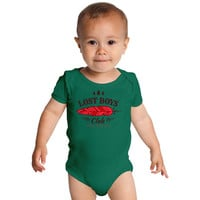 Lost Boys Club  Peter Pan Baby Onesuits