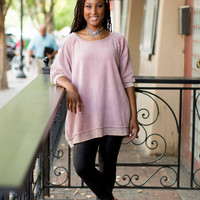 Free People My Pullover - Dusty Rose