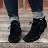 Handmade Leather Inca Boot Moccasin with fringe