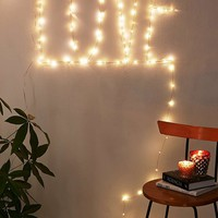 Firefly Fairy String LED Copper Plug In Lights w/ Remote